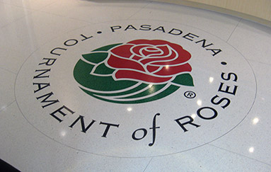 Tournament Of Roses Terrazzo Floor